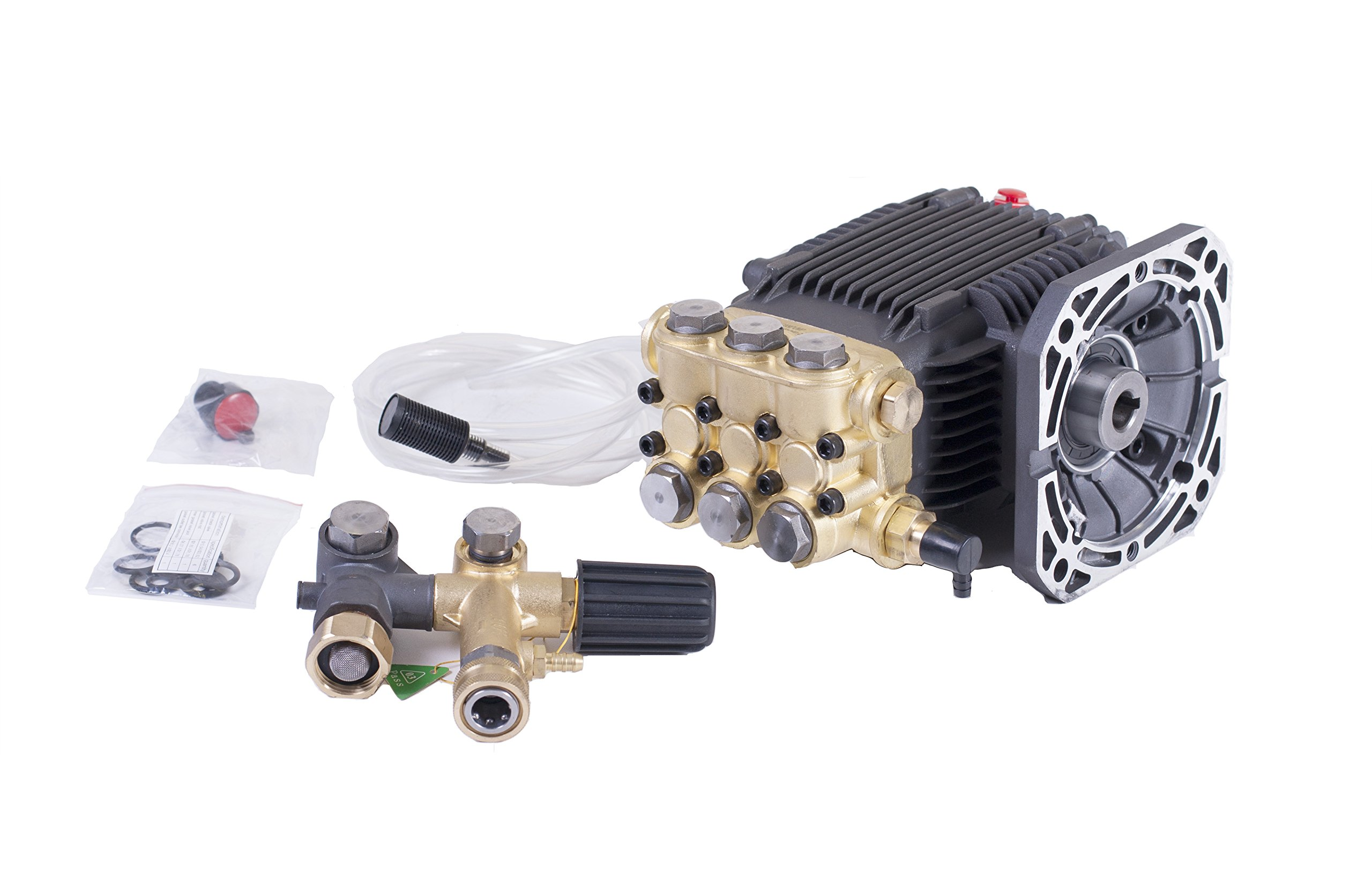 CANPUMP Direct Drive 5/8'' Hollow Shaft Pressure Power Washer Pump 2.2 GPM 1500 PSI by CANPUMP