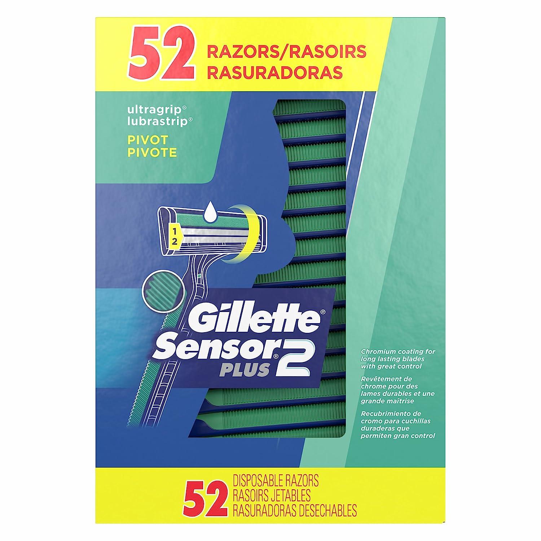 Product of Gillette CustomPlus Disposable Razors, 52 ct. - Razors [Bulk Savings]