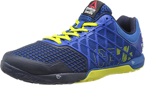 Mens Reebok Crossfit Nano One X Cushion 30 Mens Training Shoes Blue