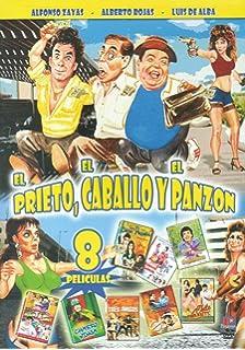 El Prieto, El Caballo Y El Panzon - 8 Peliculas - Alfonzo Zayas, Alberto