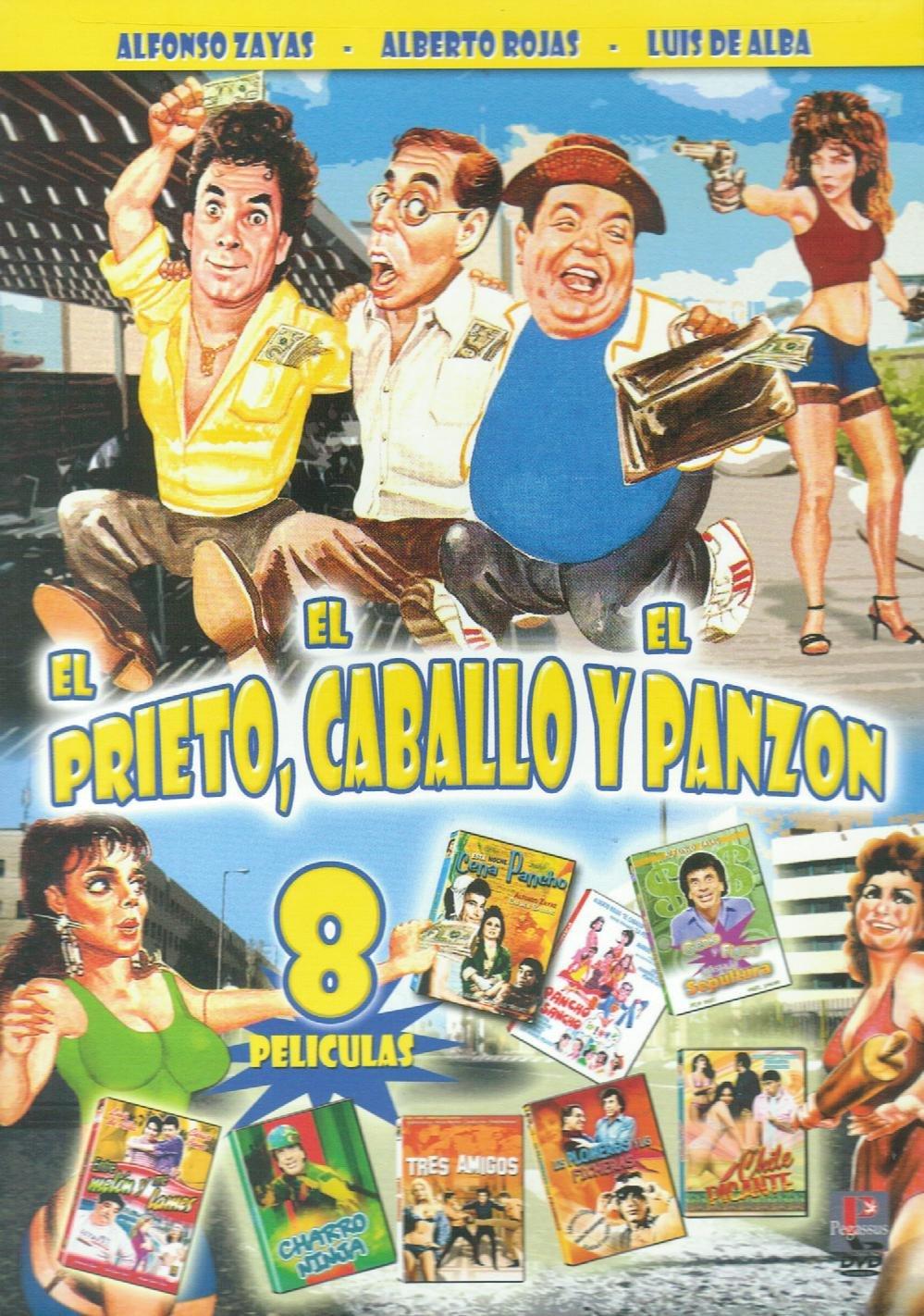 Amazon.com: El Prieto, El Caballo Y El Panzon - 8 Peliculas ...