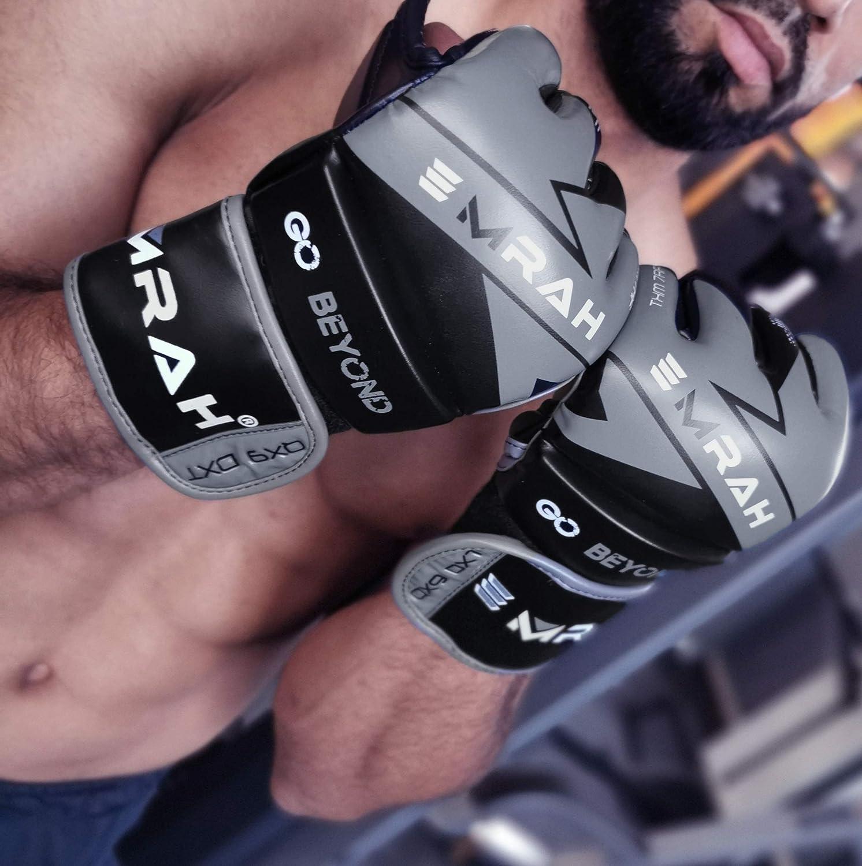 EMRAH Nitron V2.0 MMA Guantes Luchando Artes Marciales MMA Gloves Sparring Saco de Boxeo Jaula Luchando Mitts Entrenamiento