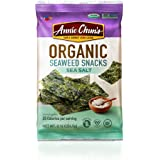 Annie Chun's Organic Seaweed, Sea Salt, 0.16-oz (12 Count), Keto, Vegan, & Gluten-Free Snack