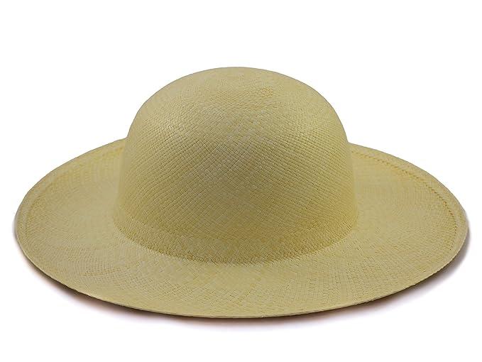 Tumia - Ladies Sun Genuine Panama Hat - Natural colour - Rollable Foldable  - Range 9d29e7c328f7