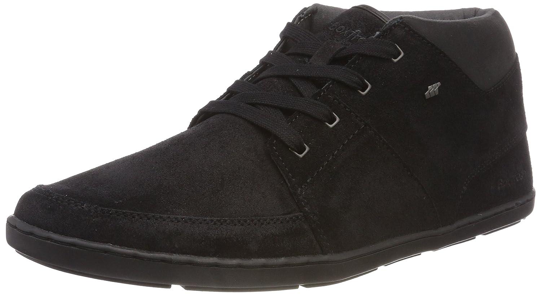 Boxfresh Cluff, Zapatillas Altas para Hombre 42 EU|Negro (Black Blk)