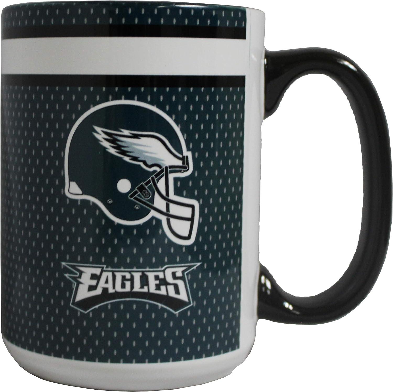 Boelter Philadelphia Eagles 15oz Blast Accent Ceramic Mug