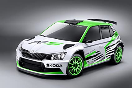 Skoda Fabia R5 Concept (2014) Car Art Poster Print on 10 mil Archival Satin