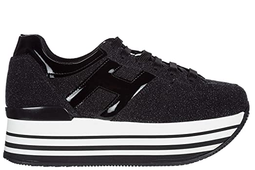Black Maxi H283 sneakers Hogan Unaq41b