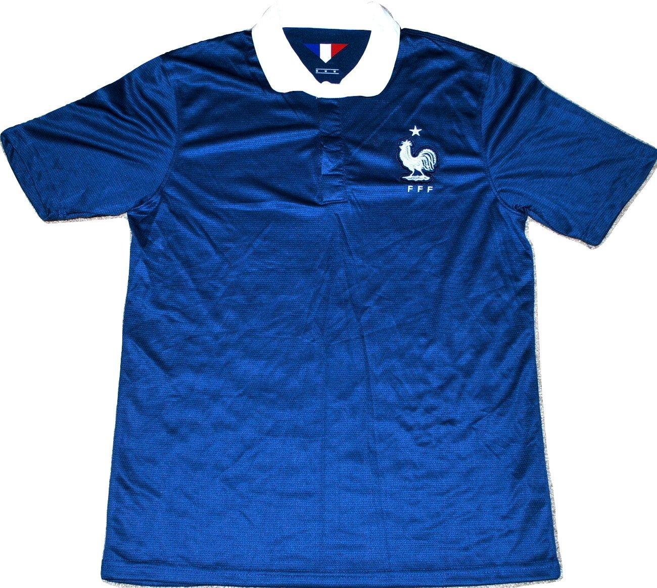 France National足ボールサッカー( Futbol )ジャージーシャツ B00M1KWWMQ