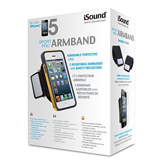 iSound Sport Pro Armband for iPhone 5/5s (yellow/black)