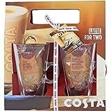 Costa Latte Glass Duo Set