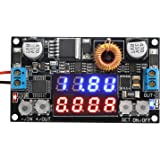 DROK 180051US Numerical Control Voltage Regulator DC 5-32V to 0-30V 5A Buck Converter, 24V 12V to 5V Step Down Power Converter Adjustable Digital Control Voltage Reducer