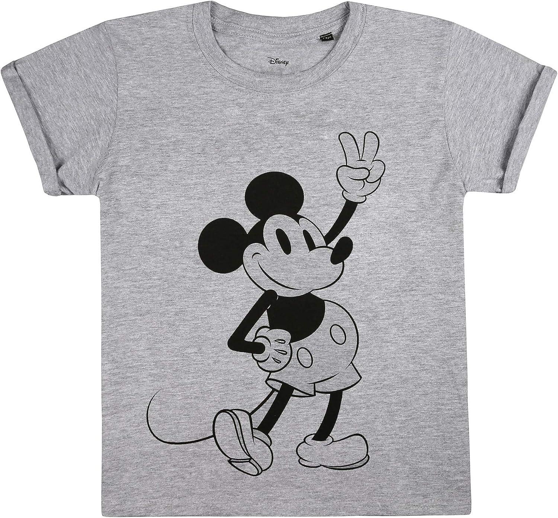 Disney Mickey Mouse Peace T-Shirt Bambina