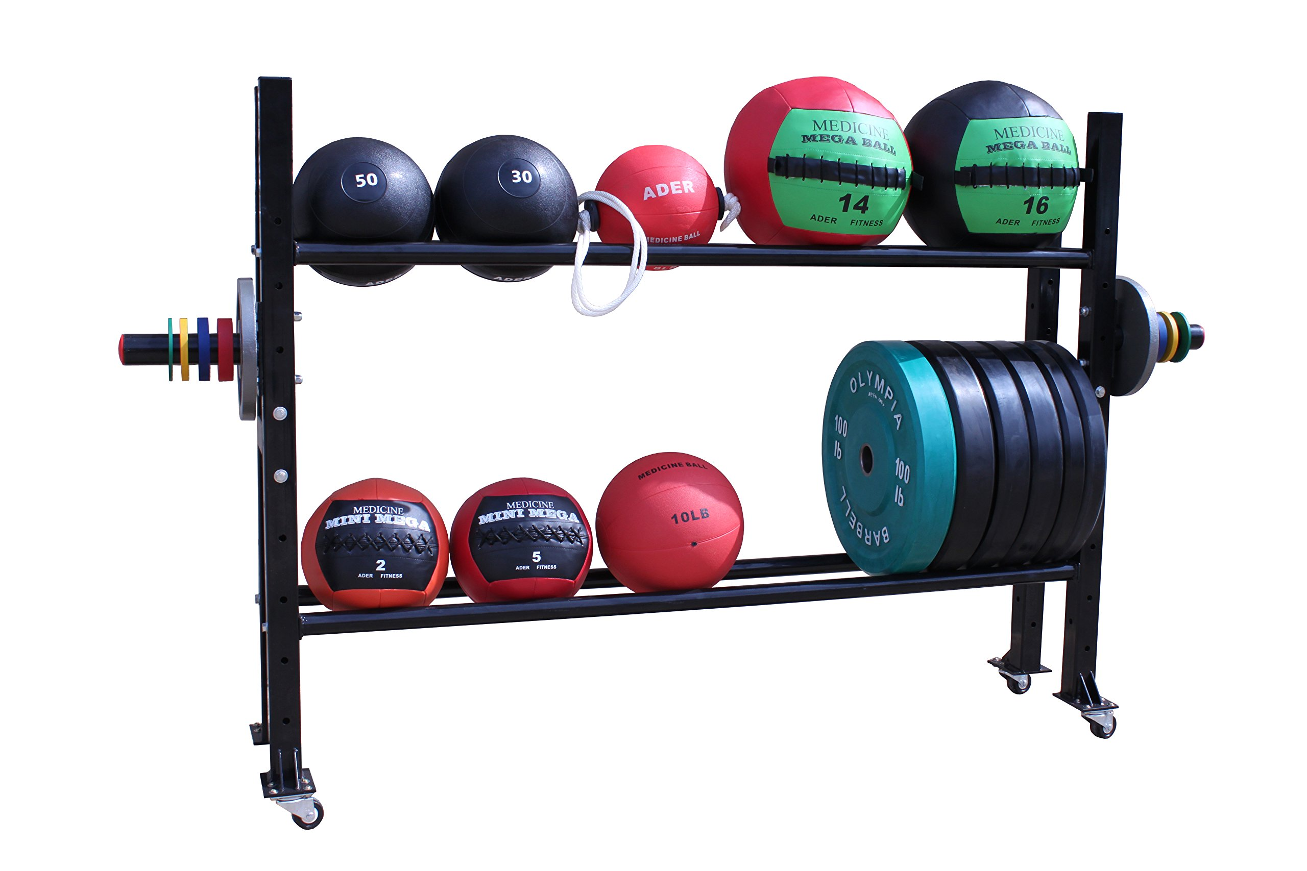Weight Storage Rack for Sporting Goods, Plates & Medicine Balls