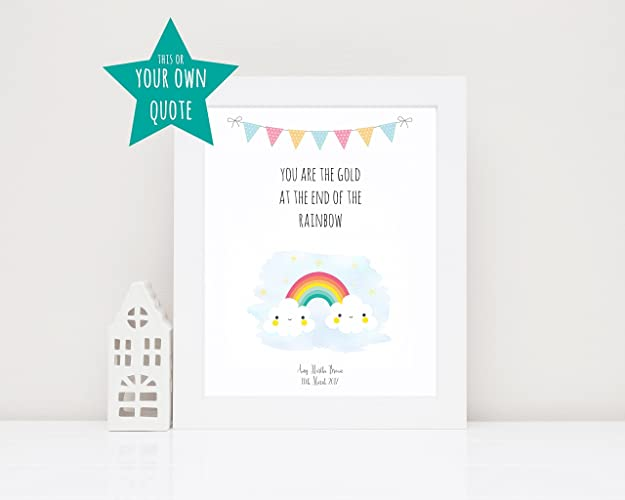Rainbow baby gifts rainbow baby picture personalised baby girl rainbow baby gifts rainbow baby picture personalised baby girl gifts ivf baby gift negle Choice Image