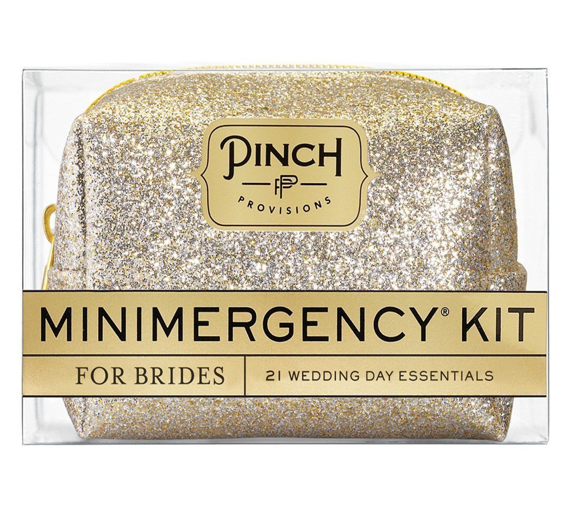 Pinch Provisions Minimergency Kit For Brides, Champagne