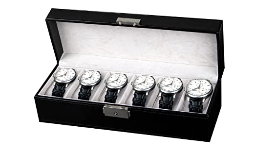47 opinioni per Amzdeal scatola porta orologi custodia per 6 orologi