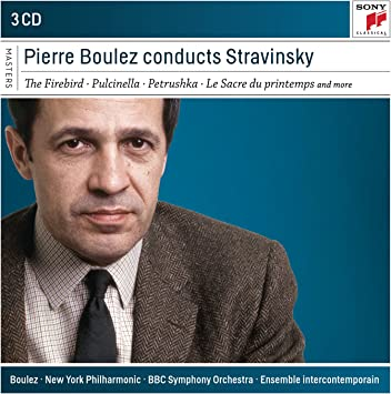 Pierre Boulez Conducts Stravin