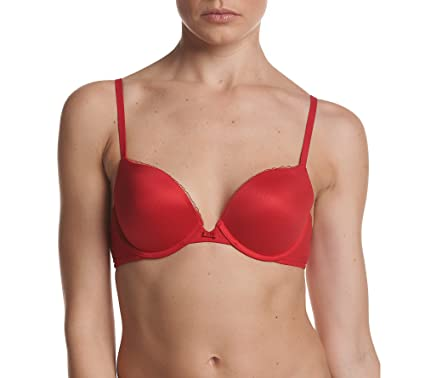 91d347d76c Calvin Klein Women s Every Day Push up Plunge Bra at Amazon Women s ...