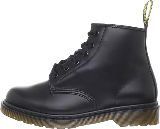 Dr Martens 101 Smooth, Boots mixte adulte Noir (Black Smooth), 36 EU (3 UK)