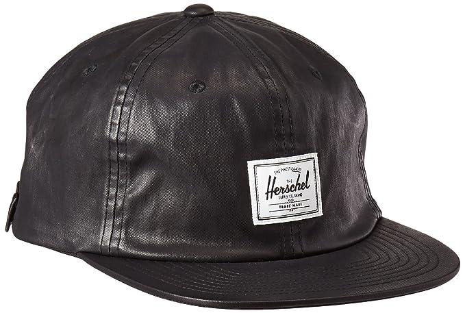 ... denmark herschel supply co. mens albert cap black one size d8b77 3aca4  ... 9c457f036f55