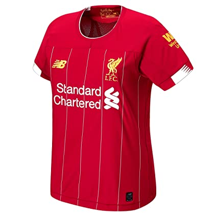sale retailer cd8bd 8fbff Amazon.com : Liverpool FC Home Kit 2019/2020 Red Polyester ...