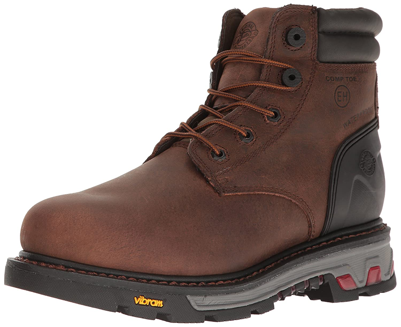 f18a20d4a61 Amazon.com   Justin Men's Commander Lace-Up Work Boot Composite ...