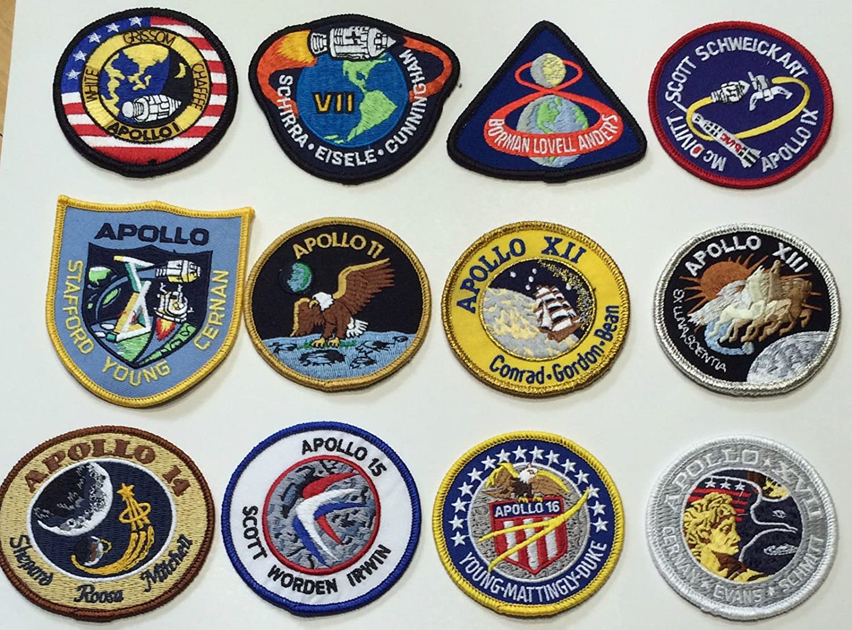 NASAs Apollo 11 Program 4 Embroidered Patch