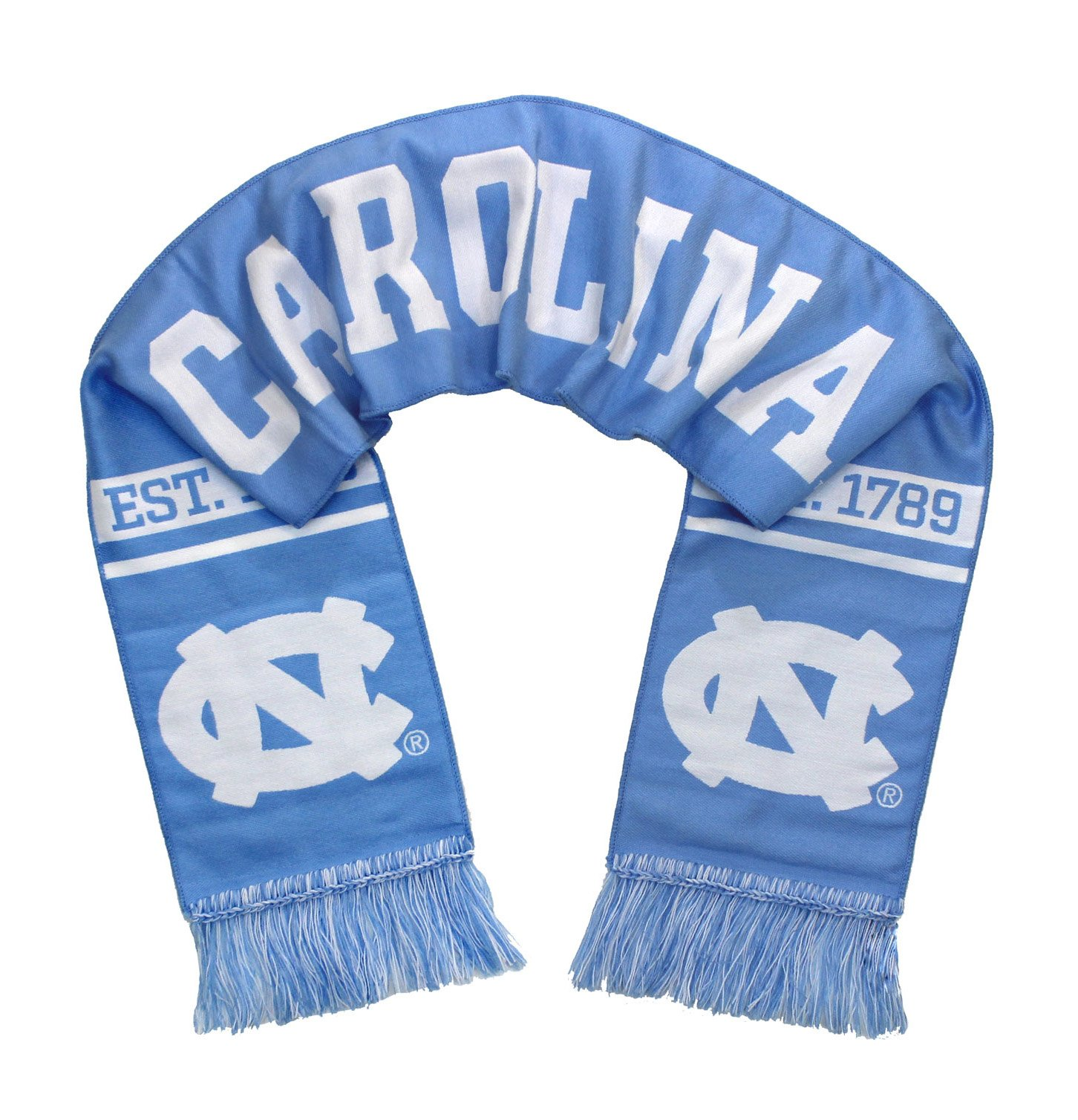 Tradition Scarves UNC Tar Heels Scarf - University of North Carolina Woven Classic