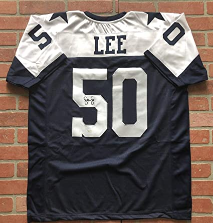 quality design 8b11c 20eca Sean Lee autographed signed jersey NFL Dallas Cowboys JSA w ...