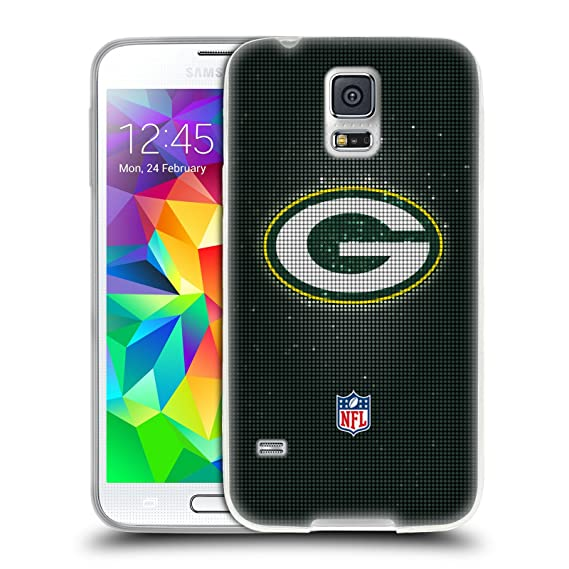 watch 662e7 546de Amazon.com : Official NFL LED 2017/18 Green Bay Packers Soft Gel ...