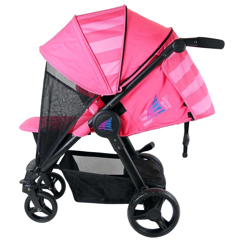 Pink Raspberry Includes Bumper Bar Rain cover Bootcover Sail Stroller