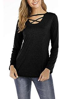Amazon.com: Aniywn - Camiseta de manga corta para mujer ...