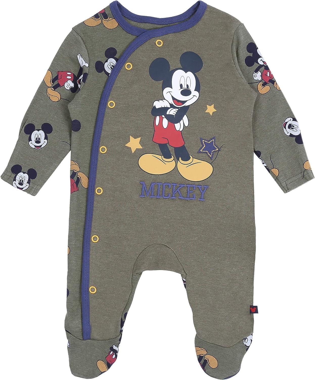 Set da Neonato Blu Scuro-Cachi Mickey Disney