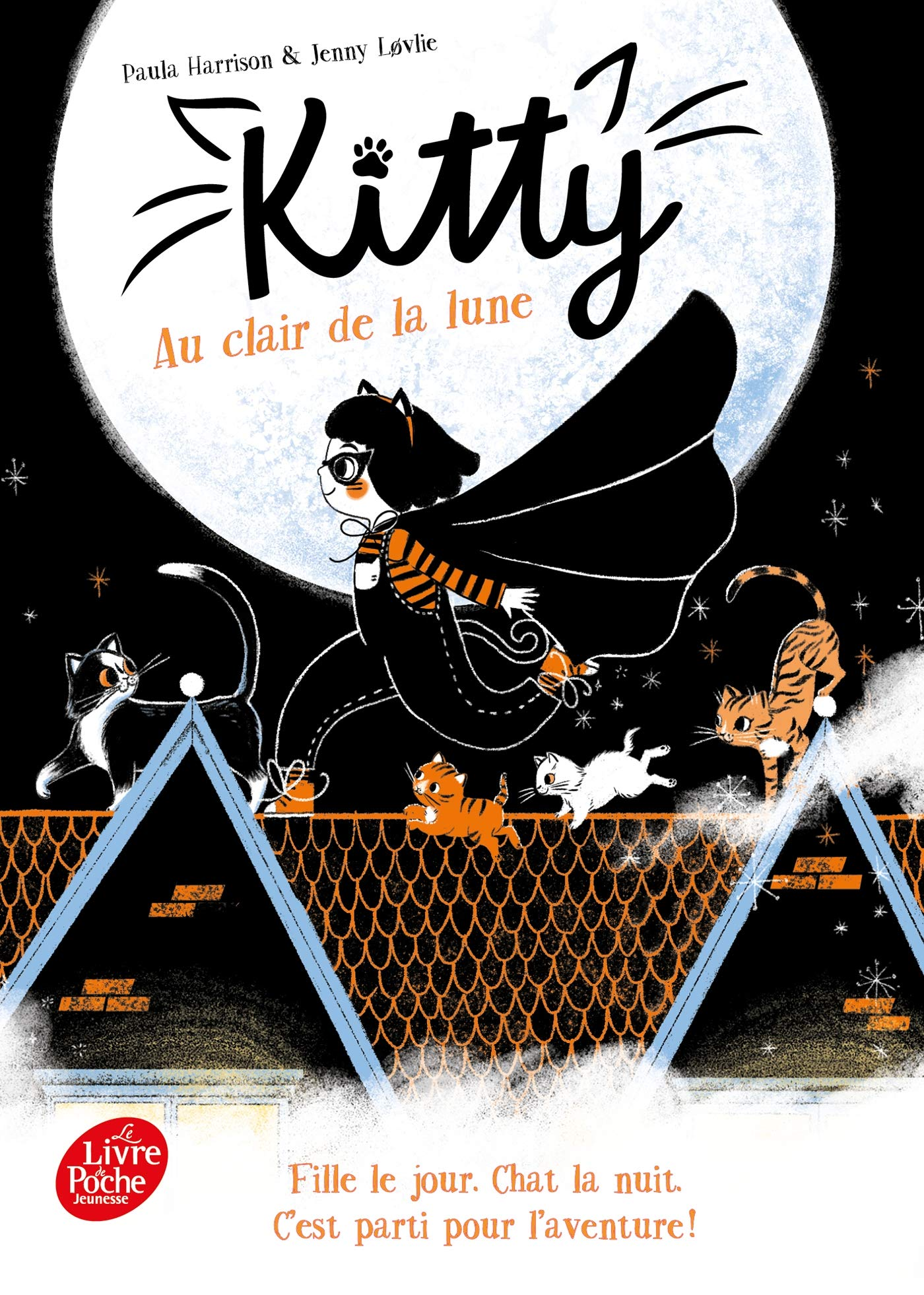 Kitty Au Clair De La Lune 9782017868439 Amazon Com Books
