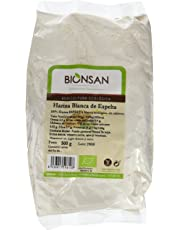 Bionsan Harina Blanca Espelta - 4 Paquetes de 500 gr - Total: 2000 gr