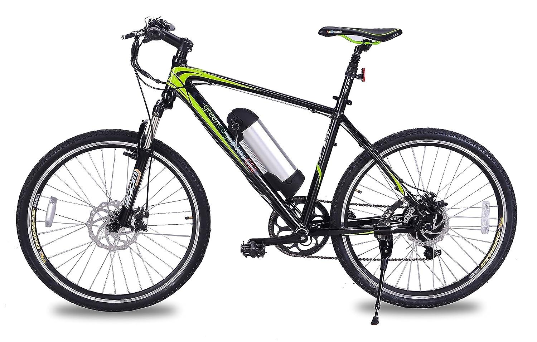 feead94bba5 GreenEdge Unisex's CS2 Electric Bike, Black, 19-Inch: Amazon.co.uk: Sports  & Outdoors