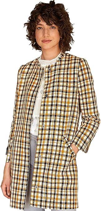 Manteau femme mulico carreaux mielécrunoir, Femme