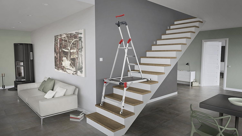 Hailo 9940-001 TP1Hailo TP1 Tr/épied descalier flexible et facile /à transporter et extr/êmement r/ésistant