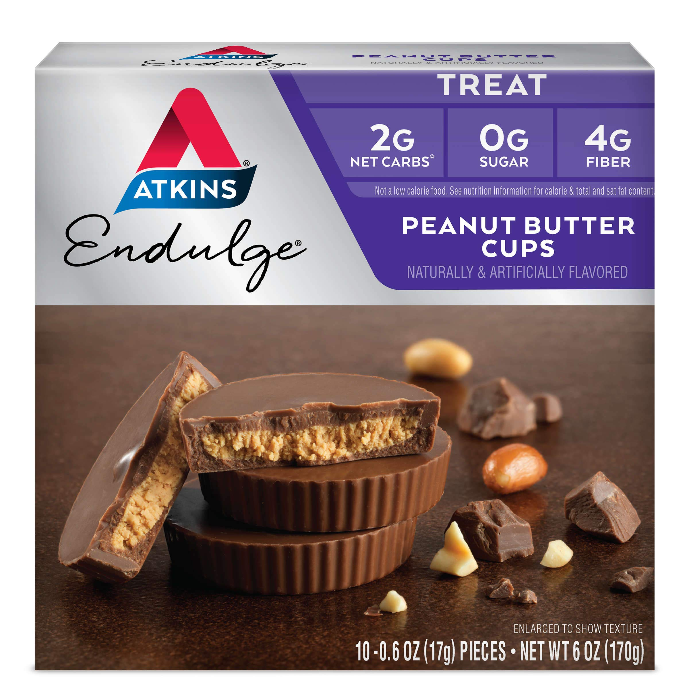 Atkins Endulge Treat, Peanut Butter Cups, Keto Friendly, 40 Count by Atkins (Image #2)
