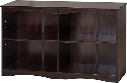 Camaflexi Bookcase, 30.5 H x 51 W x 12 D, Cappuccino