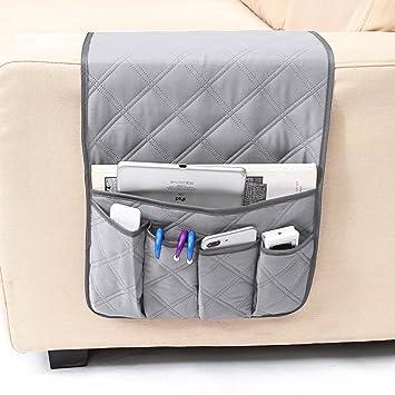 Fesselnd Platzsparende Bett Tasche Wasserdicht Sofa Organizer Fernbedienung Tasche  Aufbewahrungstasche Für Bett Sofa Mit 5 Taschen