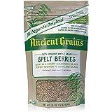 Hildegard's Original Spelt Berries: Organic & Non-GMO Ancient Grains in Resealable, 16 ounce, Satchel