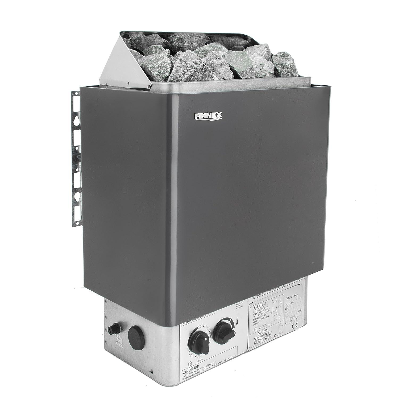 Estufa sauna con control integrado y protección de sobrecalentamiento(6.0KW Excluyendo piedras): Amazon.es: Hogar