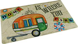 """product image for Drymate RVM1220HIWYP RV Dish Drying Mat 12"""" x 20"""" - Home is Where You Park"""