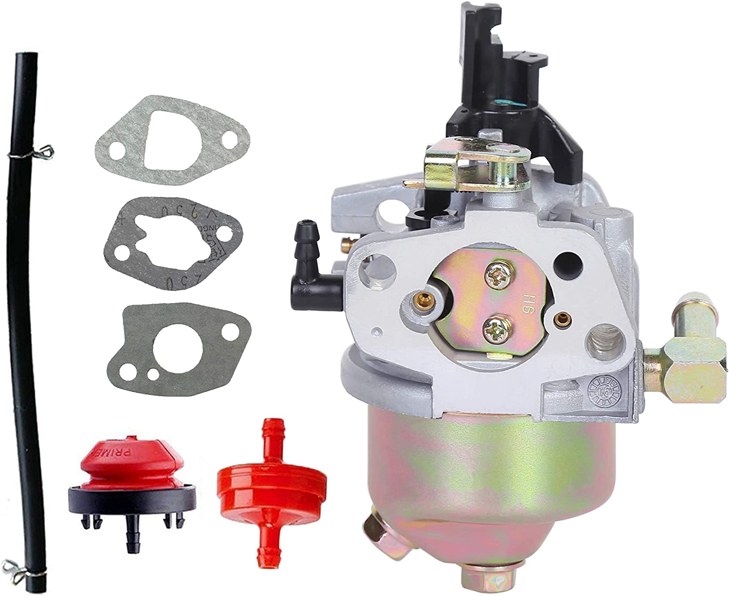 Pro Chaser 247.889571 Carburetor Replaces Craftsman 247.889701 247.886910 247.887200 247.889571 247.88955 247.881720 Snow Blower Fits MTD 270-QU 952Z265-SUA ZS365-SUA Engine Huayi 170SA 170SB Carb