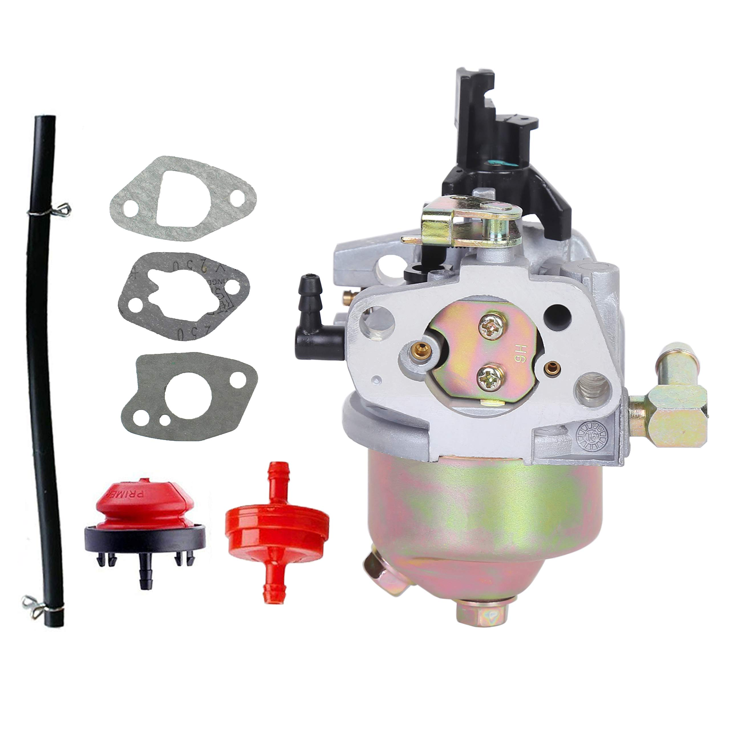 Pro Chaser 247.889571 Carburetor Replaces Craftsman 247.889701 247.886910 247.887200 247.889571 247.88955 247.881720 Snow Blower Fits MTD 270-QU 952Z265-SUA ZS365-SUA Engine Huayi 170SA 170SB Carb by Pro Chaser