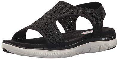 Skechers Women's Flex Appeal 2.0 Deja Vu Sport Sandal