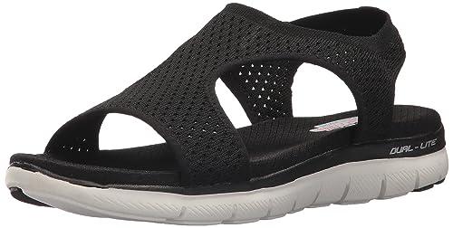 ade4aeb60e1d4 Skechers Women's Flex Appeal 2.0-Deja Vu Sport Sandal