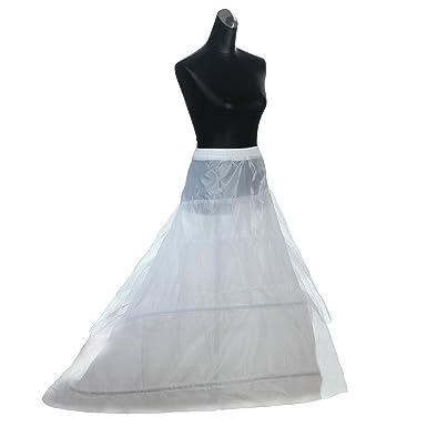 himry design jupon de marie en crinoline jupon 2 cerceau 3 couches avec - Jupon Mariage 2 Cerceaux